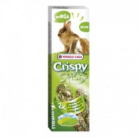 "Mega Sticks Konijnen-Cavia's ""Groene Weide"" 2 st 140gr Crispy"