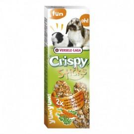 Sticks Konijnen-Cavia's Wortel & Peterselie 2 st Crispy