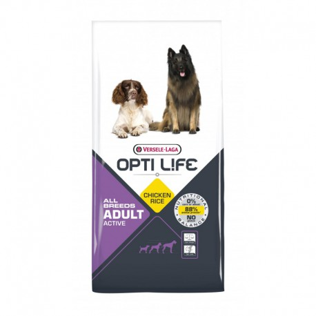 Adult Active All Breeds 12.5kg Opti Life