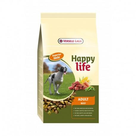 Adult Beef 15kg Happy Life