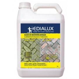 Algen & mosverwijderaar RTU navulling 5l Edialux