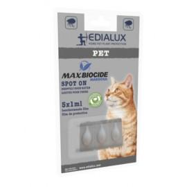 Max biocide spot on cat 5st  Edialux