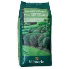 Organische Meststof voor Buxus, Hagen en Coniferen 10kg Vilmorin