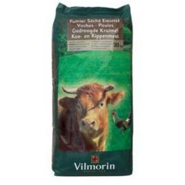 Gedroogde Kruimel Koe- en Kippenmest  20kg Vilmorin