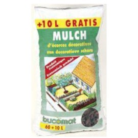 Mulch van Decoratieve Schors 70l Bucomat
